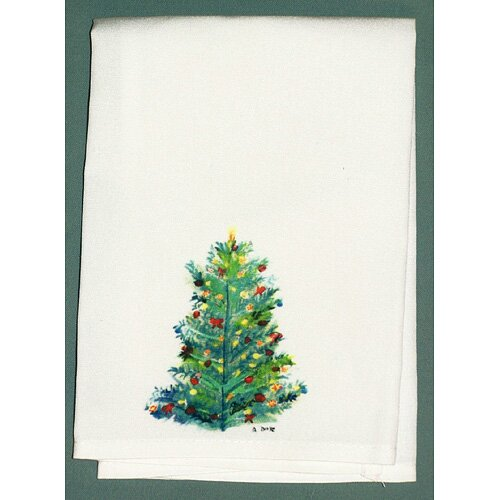 Betsy Drake Interiors Holiday Christmas Tree Hand Towel