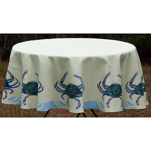 Betsy Drake Interiors Crab Tablecloth