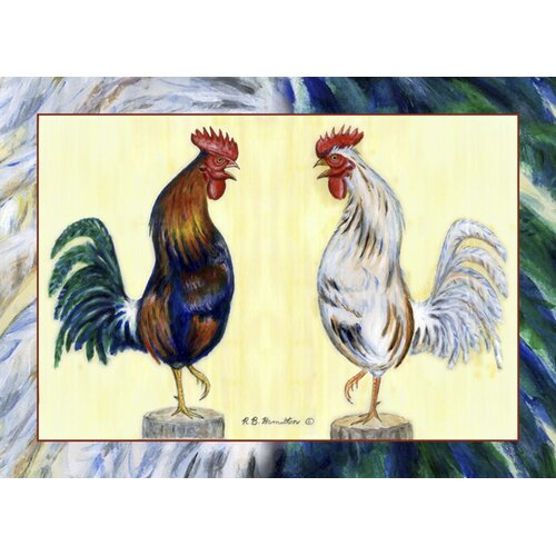 Blue Rooster Placemat (Set of 4)