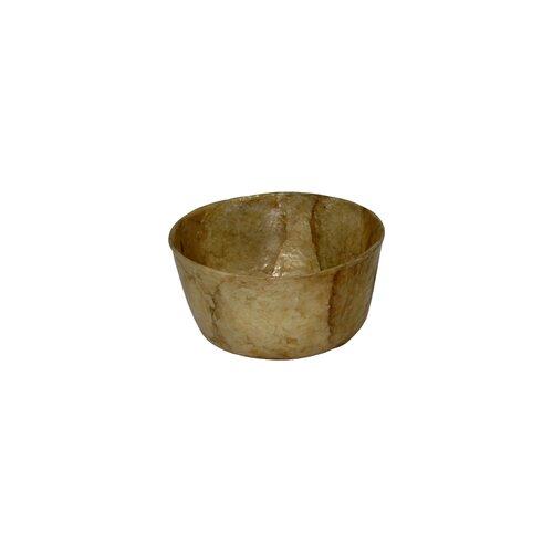 """Dekorasyon Gifts & Decor Capiz 3.5"""" Mini Bowl"""