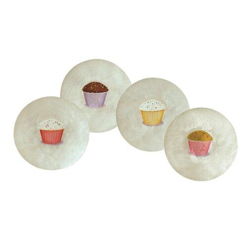 Dekorasyon Gifts & Decor Capiz Cupcakes Plate