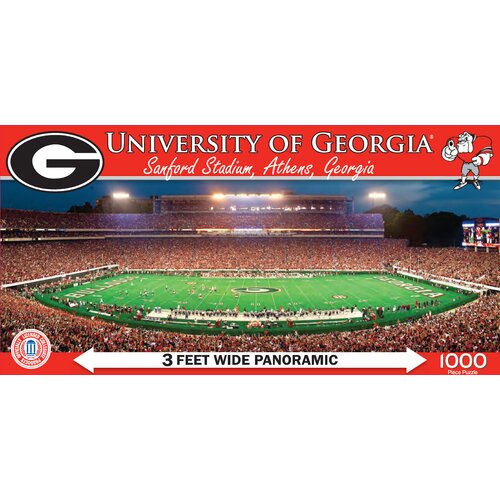MasterPieces NCAA College Stadiums Panoramic 1000 Piece Jigsaw Puzzle