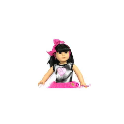 "Arianna Rockin Tulle Doll Dress for 18"" American Girl Doll"