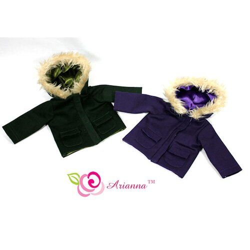 "Arianna Windy City Jacket for 18"" American Girl Doll"