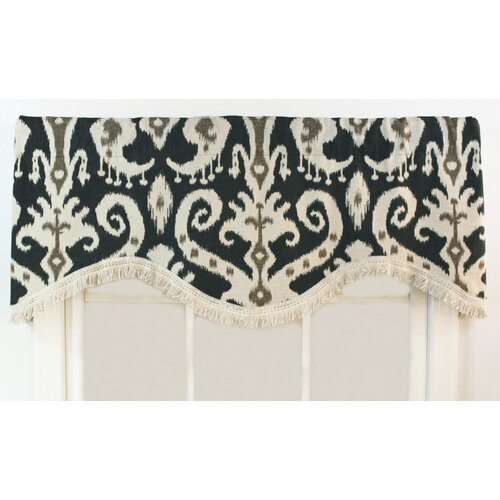 "RLF Home Ikat 50"" Curtain Valance"