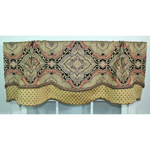 "RLF Home Allon Glory 50"" Curtain Valance"