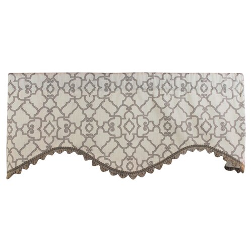 "RLF Home Garden Gate 50"" Curtain Valance"