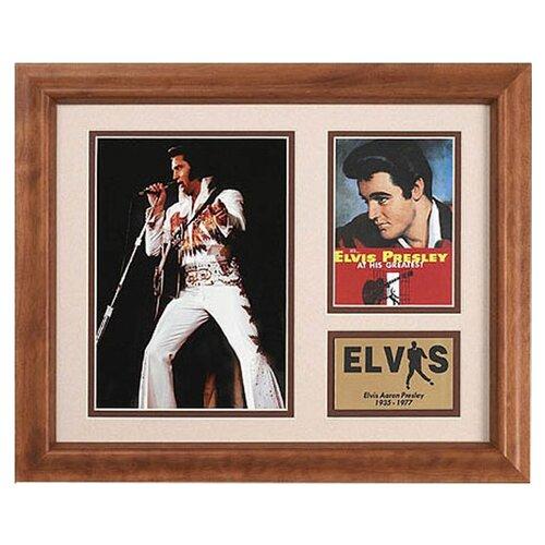 Legendary Art Elvis Framed Memorabilia