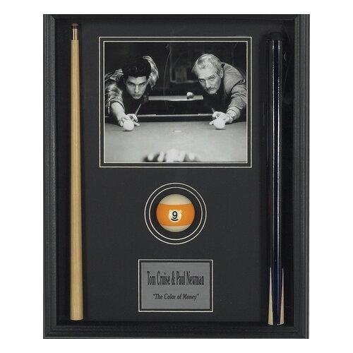 'Color of Money' Framed Memorabilia Shadow Box