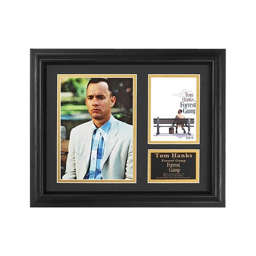 Legendary Art 'Forrest Gump' Movie Framed Memorabilia