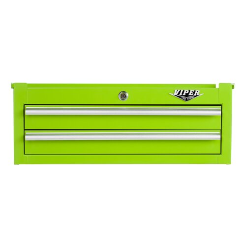"""Viper Tool Storage 26.61"""" Wide 2 Drawer Middle Cabinet"""