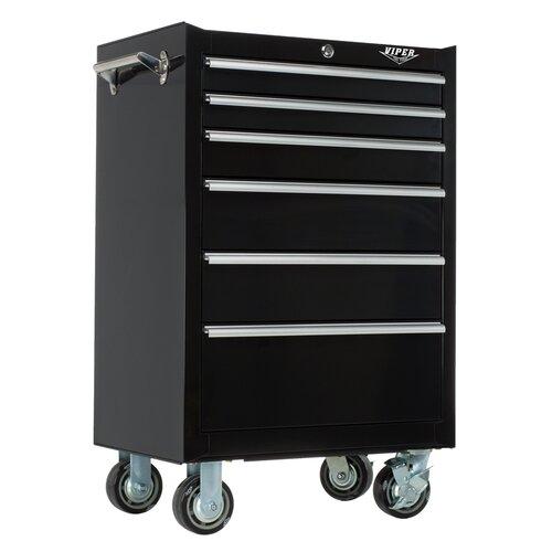 "Viper Tool Storage 26"" Wide 6 Drawer Bottom Cabinet"