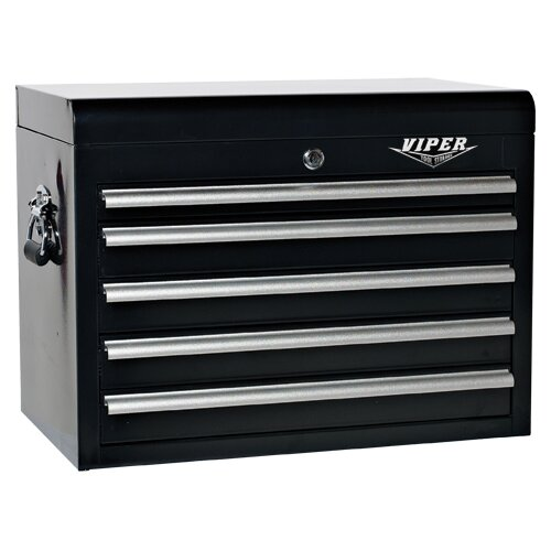 "Viper Tool Storage 26"" Wide 5 Drawer Top Cabinet"
