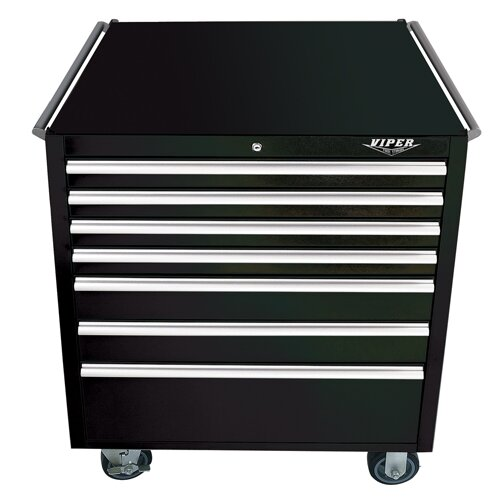 "Viper Tool Storage 33.6"" Wide 7 Drawer Bottom Cabinet"