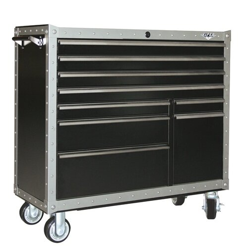 "Viper Tool Storage Armor Series 41"" Wide 9 Drawer Bottom Cabinet"