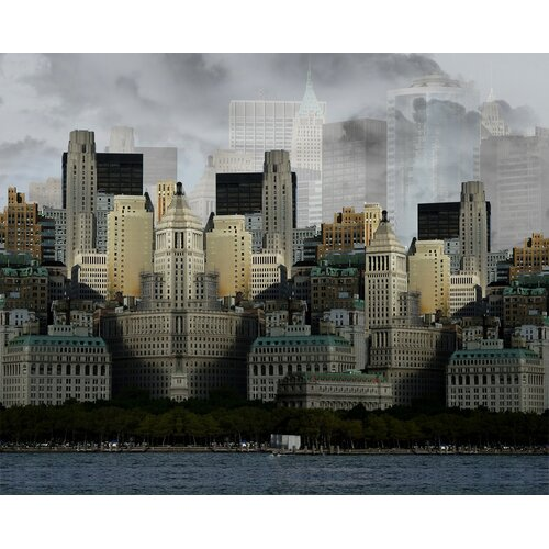 Carlyle Fine Art Architecture City Fog by Jordan Carlyle Graphic Art