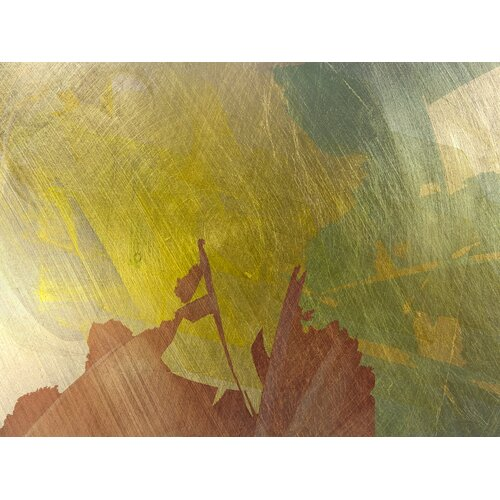 Carlyle Fine Art Abstract Flutter by Jordan Carlyle Graphic Art