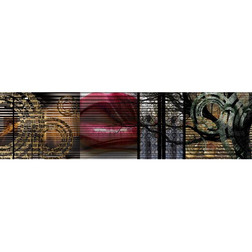 Carlyle Fine Art Abstract Seven by Jordan Carlyle Graphic Art