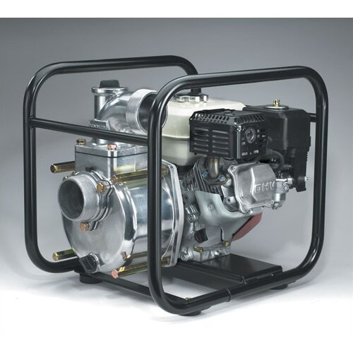 238 GPM Semi-Trash Pump with Honda Engine