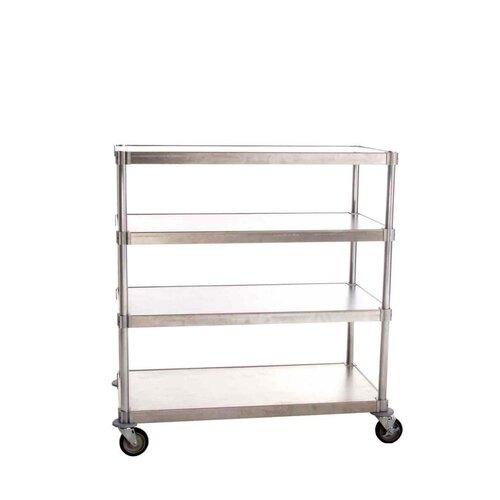 PVIFS Queen Mary Mobile 4 Shelf Shelving Unit Starter