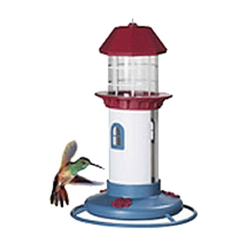 Pet Zone Lighthouse Hummingbird Bird Feeder