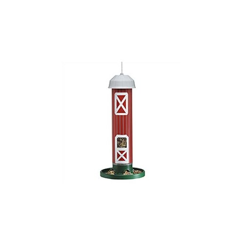 Pet Zone Barn Seed Tube Bird Feeder