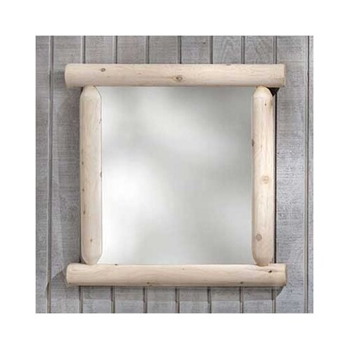 Rustic Natural Cedar Furniture Wilderness Mirror