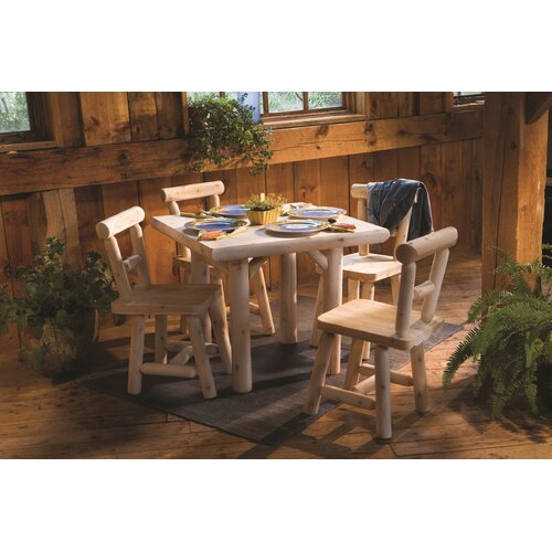 Rustic Natural Cedar Furniture Side Chair