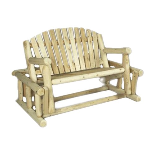 Rustic Natural Cedar Furniture Log Style Wood Garden Bench