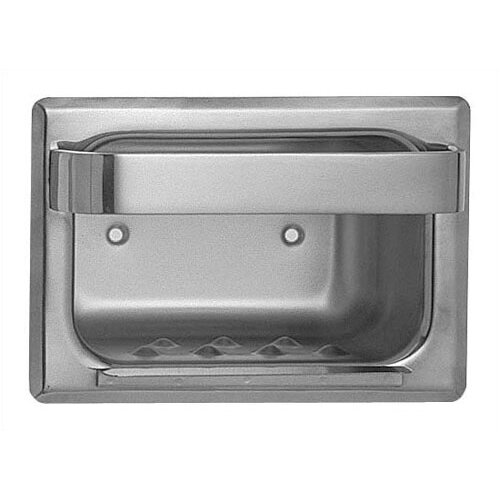 American Specialties Heavy Duty Recessed Stainless Steel Soap Dish