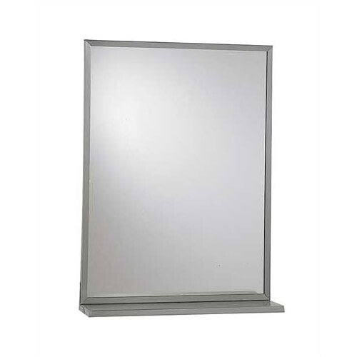 American Specialties Chan-Lok Angle Frame Wall Mirror