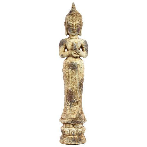 Cement Standing Buddha Statue