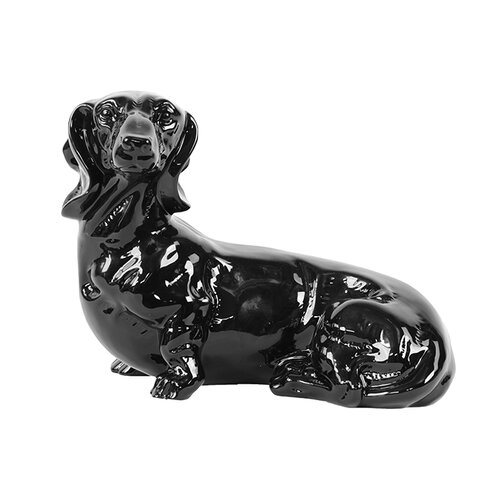 Ceramic Dog Statue