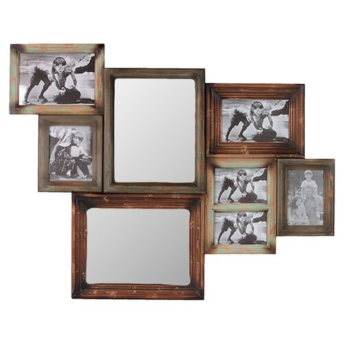 Wooden Multi-Photo/Mirror Frame