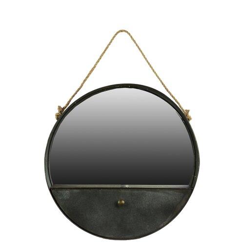 Metal rope mirror wayfair for Metal miroir