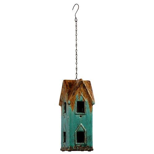 Urban Trends Home and Garden Accents Houseic Gazebo Bird Feeder
