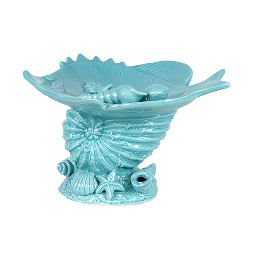Ceramic Seashell Platter
