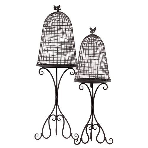 Urban Trends Metal Planter Set of Two
