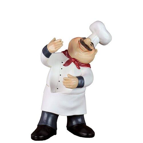 Resin Chef Wine Holder