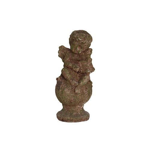 Urban Trends Stoneware Sitting Cupid