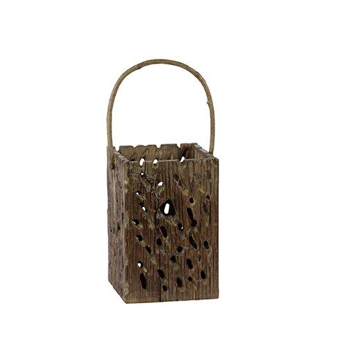 Urban Trends Wooden Lantern