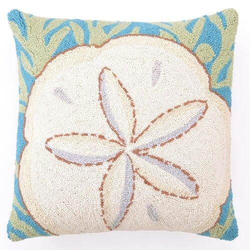 Peking Handicraft Sand Dollar Wool Pillow