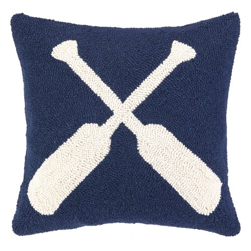 Peking Handicraft Nautical Hook Oars Pillow