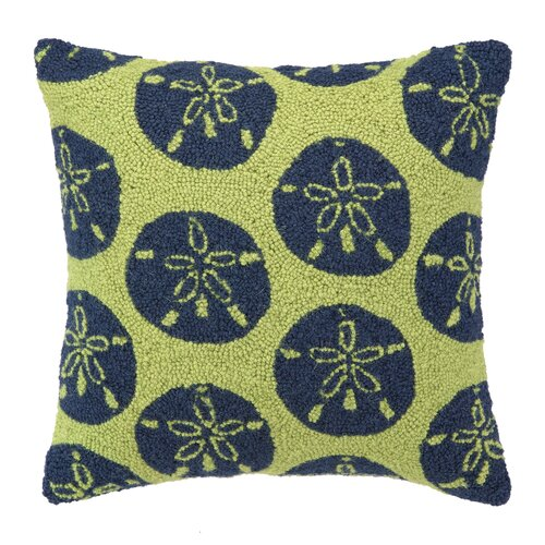 Peking Handicraft Sand Dollars Wool Pillow