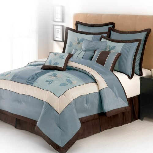 Samantha 4 Piece Comforter Set