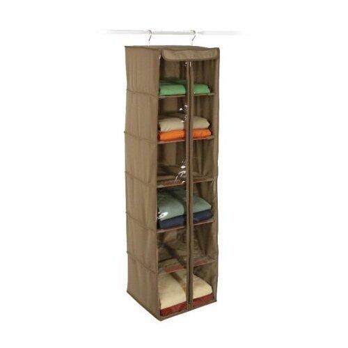 Richards Homewares Cedar Storage 6-Shelf Inserts Hanging Organizer