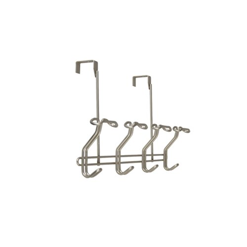 Richards Homewares Soho Over the Door 4 Hook Rack