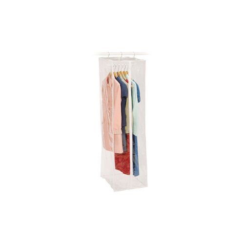 Richards Homewares Clear Vinyl Storage Maxi Rack Dress Garment Cover