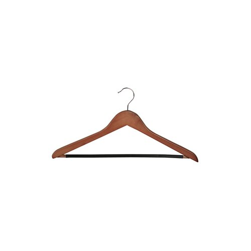 Wood Rib Bar Suit Hanger (Set of 6)