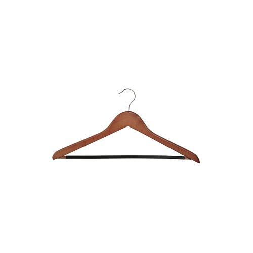 Wood Rib Bar Suit Hanger (Set of 6)